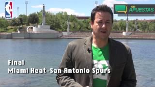 Apuestas NBA Final -Miami Heat-San Antonio Spurs- Antoni Daimiel