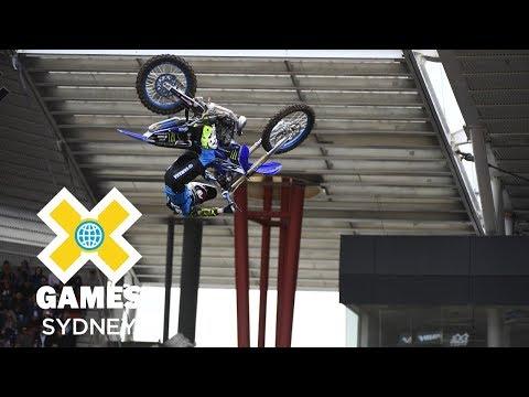 Jarryd McNeil wins Best Whip gold   X Games Sydney 2018