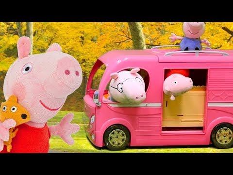 Peppa Pig Português Brasil. Uma casa sobre rodas!