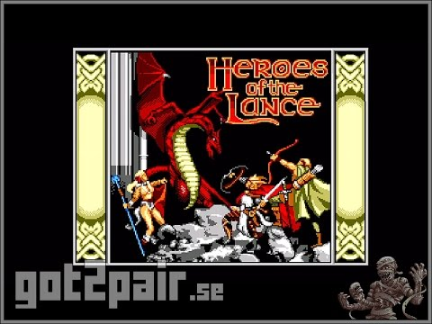 Heroes Of The Lance - Master System