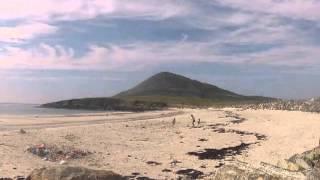 Northton beach, Isle of Harris, Outer Hebrides (Scotland) - time lapse