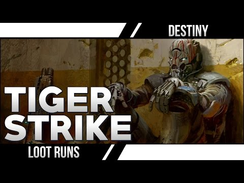 Strike - Destiny Best Loot Runs! Now that Lootcave is patched, what are the best ways to get Legendary Engrams in Destiny? Tiger Strike Playlist is the best, this Venus run is second - https://www.youtube.c...
