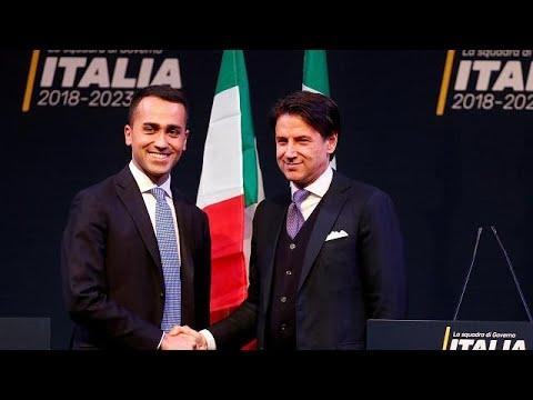 Η νέα ιταλική κυβέρνηση ανησυχεί την ΕΕ