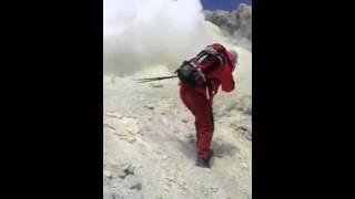فیلمی نایاب از آتشفشان خفته دماوند