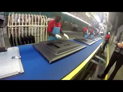 LG South Africa's LED television assembly plant - Part 5