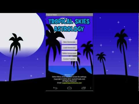 Video of Tropical Skies Astrology