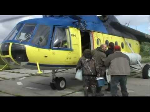 доставка на рыбалку на вертолете