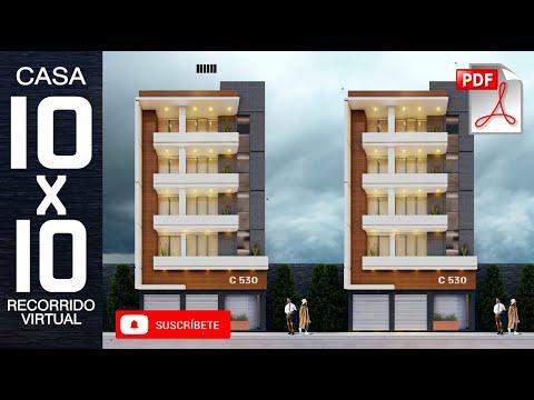 EDICIO MULTIFAMILIAR 10X10 I DEPARTAMENTOS I EDIFICIO V01