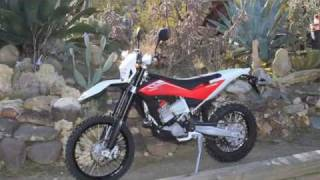 7. 2011 Husqvarna TE449 First Ride