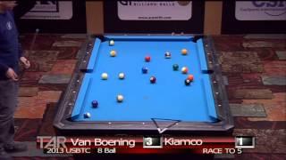 2013 USBTC 8 Ball Division. Shane Van Boening Vs Warren Kiamco