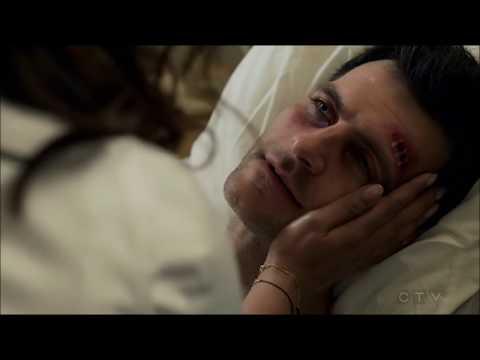 Quantico 3x12 Alex SAVES Mike Hospital scene