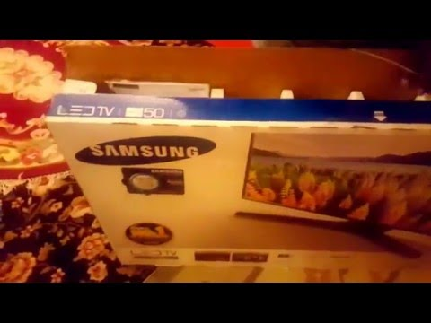 Unboxing Samsung 50 inch UA50J5100AR series 5 LED