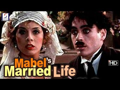 Charlie Chaplin Comedy Movie - Mabel's Married Life - HD - 1914