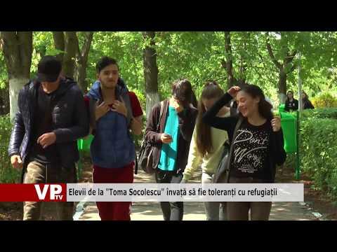 """Elevii de la """"Toma Socolescu"""" învață să fie toleranți cu refugiații"""