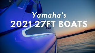 The Shape of What's Next – Yamaha's 2021 275 Series Boats