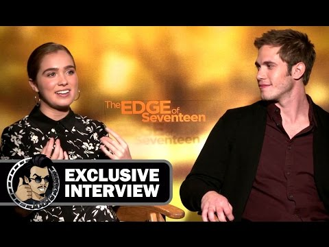 "Blake Jenner & Haley Lu Richardson Exclusive Interview For ""The Edge of Seventeen"" And Movie Review"