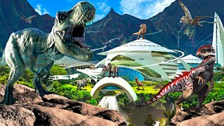 BUILD THE BEST DINOSAUR THEME PARK! - Jurassic World Evolution