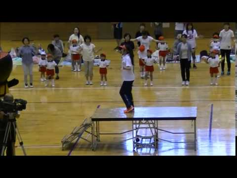 やさか幼稚園運動会 ダンスキャラバン
