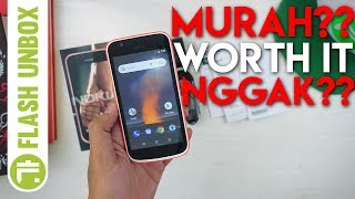 Video Unboxing Nokia 1 One Android Go Pertama Resmi Indonesia MP3, 3GP, MP4, WEBM, AVI, FLV Agustus 2018