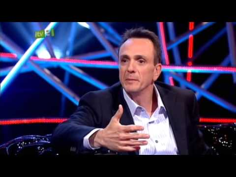 Hank Azaria - Hank Azaria interview on The Justin Lee Collins Show (14/5/09)