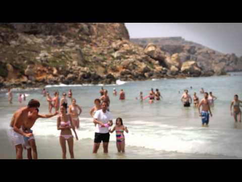 Air Malta – Surprise Dance at Golden Bay