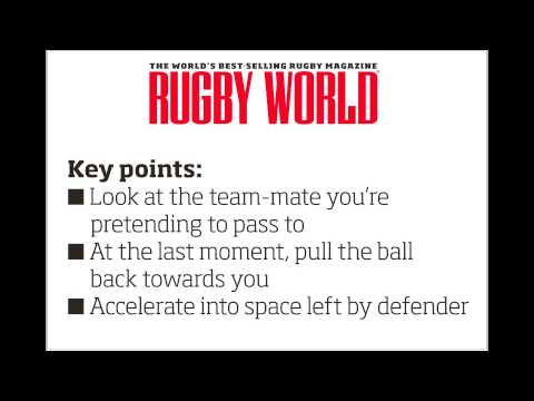 Mini rugby video: How to sell a dummy