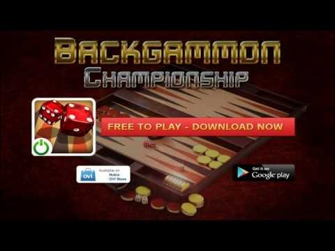 Video of Backgammon Championship