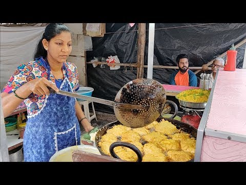 India's Fastest Lady Vendor | Ragda Pattice Pav For Rs 17 | Indian Street Food