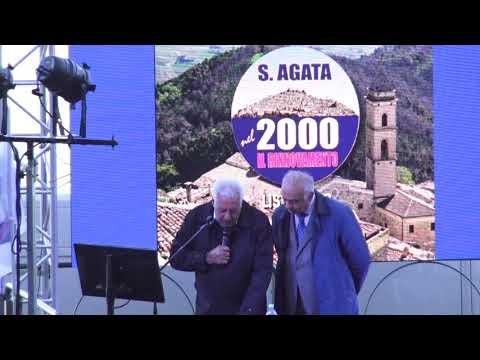 Comizio Lista N.2 Sant'Agata nel 2000 Il Rinnovamento - 19 Maggio 2019
