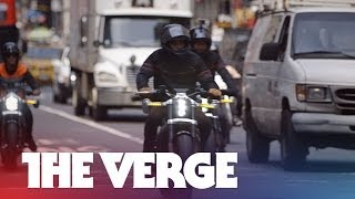 Test driving Harley-Davidson's first electric motorcycle