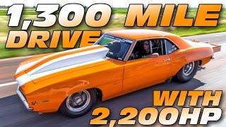 2000+hp '69 Camaro BATTLES Larry Larson - Rocky Mountain Race Week! by 1320Video