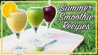✖️ Summer Smoothies  Summer Smoothie Recipes  Weight Loss Smoothies  Weight Loss Smoothie Recipes  Vegan Smoothies  Vegan Smoothie Recipes  Healthy Smoothie Recipes ✖️► SUBSCRIBE ► https://tinyurl.com/SubElena____________________✖️ THE MATCHA RESERVE ✖️Thank you to the Matcha Reserve for sponsoring this video! You can get their delicious matcha here: https://tinyurl.com/ElenaMatcha15% OFF CODE: ELENAMATCHA____________________✖️ MORE VIDEOS YOU MAY ENJOY ✖️🔥 3 DETOX WATER RECIPES for Weight Loss, Energy, & Anti-Aging! 🔥:https://www.youtube.com/watch?v=uXkAFwlqDos😄 5 Hacks for FAST WEIGHT LOSS! 👍:https://www.youtube.com/watch?v=UH2gu8mIQhk💪 8 Ways to Motivate Yourself to Work Out ⚡️:https://www.youtube.com/watch?v=VgbpaCQFTxc____________________✖️ SUPPORT ME! ✖️Patreon (monthly with special rewards): http://patreon.com/ElenaHousePayPal (one-time donation): http://www.paypal.me/ElenaHouseMerch: https://www.teepublic.com/user/elenahouse____________________✖️ WHERE TO FIND ME ✖️Instagram: http://instagram.com/ElenaHouseFacebook: http://www.facebook.com/ElenaHouseFanPageYouNow: https://www.younow.com/ElenaHouseTwitter: http://twitter.com/ElenaHouseGoogle +: http://plus.google.com/+MissElenaHouseSnapchat: ElenaHouseBusiness Inquiries: ElenaHouseBusiness@gmail.com____________________✖️ DISCOUNT CODES & FAV PRODUCTS ✖️20% OFF TEAMI BLENDS (DETOX TEA) CODE: ELENAH20http://www.teamiblends.com/OurProducts.asp15% off FAV SKINCARE, MAKEUP, & MORE CODE: EXCLUSIVE15https://tinyurl.com/kos8b9b12% OFF SUPERFOOD SUPPLEMENTS CODE: MissElenaHousehttp://shop.drcolbert.com____________________♡ ♡ ♡