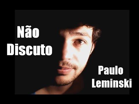 Não Discuto- Paulo Leminski | Poesia na Penumbra