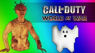 Giant Baby Zombie! (Call of Duty WaW Zombies Custom Maps, Mods, & Funny Moments)