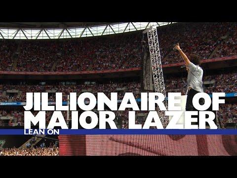 Jillionaire of Major Lazer - 'Lean On' (Summertime Ball 2016)