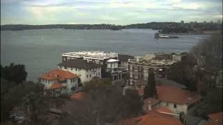 Sydney Webcam Time Lapse for Sat, 21st June 2014