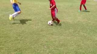 My 8 year old son playing at two 3v3 Soccer Tournaments in the summer of 2013.Watch in HD if posibble.