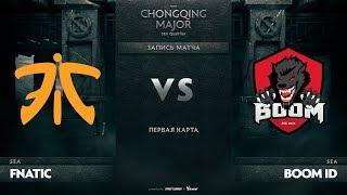 Fnatic против Boom ID, Первая карта, SEA Qualifiers The Chongqing Major