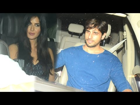 Katrina Kaif And Sidharth Malhotra Spotted Late Ni