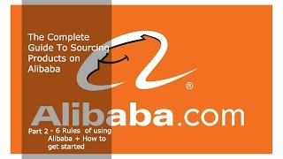 Want more? Checkout http://:www.ecommercemvp.com/alibaba-courseGot Questions? Ask and get answers on the FB page:https://www.facebook.com/Ecommerce-MVP-1533211980304083/Link to Alibaba Email template: In Part 2 of the complete guide to sourcing products on Alibaba you'll learn how to search for products and connect with suppliers. But before you start using Alibaba, you should understand the following rules(1) Form long term relationships with suppliers(2) Numbers on Alibaba don't mean anything(3) Never place a large order before seeing samples(4) Always negotiate!(5) Don't waste time with suppliers, go straight to the manufacturer (6) Keep records of everything== How to start =====(1) To start with Alibaba, go to Alibaba.com and create an account.(2) Search for a product(3) Review the product specs. The FOB is the price/unit of the product. MOQ is the minimum order quantity which is the minimum number of pcs you must order from the suppliers(4) But remember don't mean anything, so take these figures with a grain of salt(5) Initiate a chat session with supplier or send them a message(6) Negotiate directly with the supplier. Order small quantities before placing a large order!.