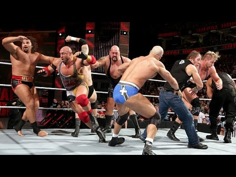 WWE Royal Rumble Match 2015