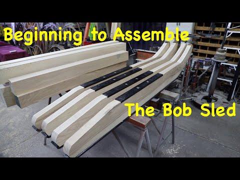 Assembling a Bob Sled, The Journey Begins   Part 3   Engels Coach Shop