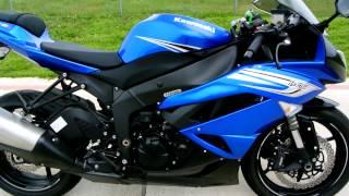 5. Review: 2011 Kawasaki ZX6R Ninja in Blue