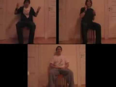 The Polancorottys - Invisible Drum Battle