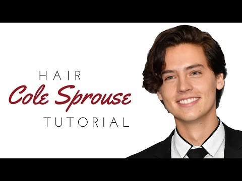 Hair salon - Cole Sprouse Haircut - TheSalonGuy