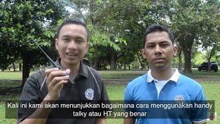 Berikut kami jelaskan cara menggunakan HT yang dianjurkan. HT yang digunakan: -Baofeng UV-82 -Baofeng UV-5RC...