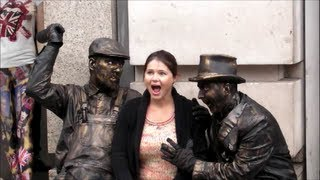 Video The Drunk Bandits. Living Statues. London MP3, 3GP, MP4, WEBM, AVI, FLV November 2017