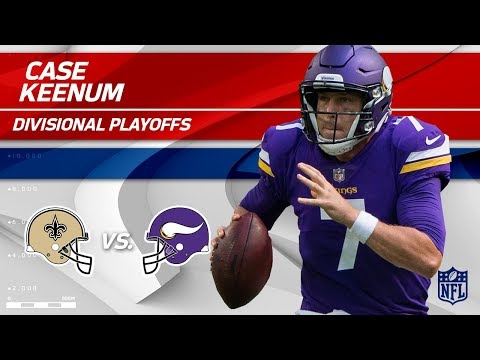 Video: Case Keenum's Crazy Game w/ 318 Yards! | Saints vs. Vikings | Divisional Round Player HLs