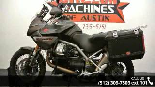 2. 2012 Moto Guzzi Stelvio 1200 NTX  - Dream Machines Indian...