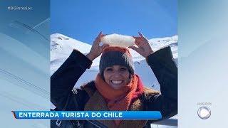 Enterrado em Sorocaba corpo da jovem que morreu no Chile